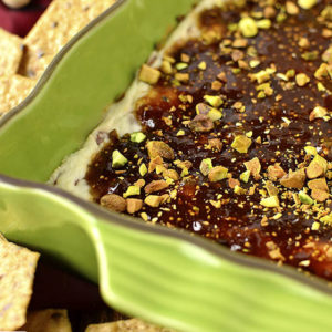 Warm Fig and Prosciutto Goat Cheese Dip (Video)
