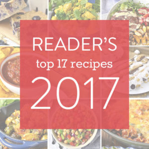 2017 Reader Favorite Recipes