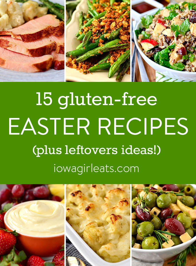 Gluten-Free recipes for Easter