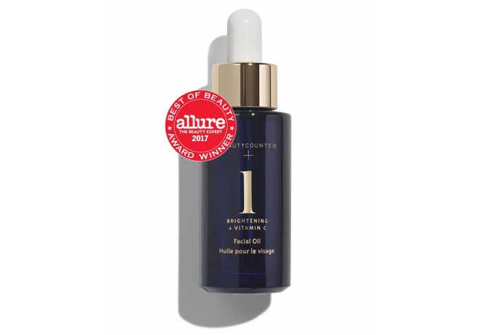 Bottle of Beautycounter Brightening Oil