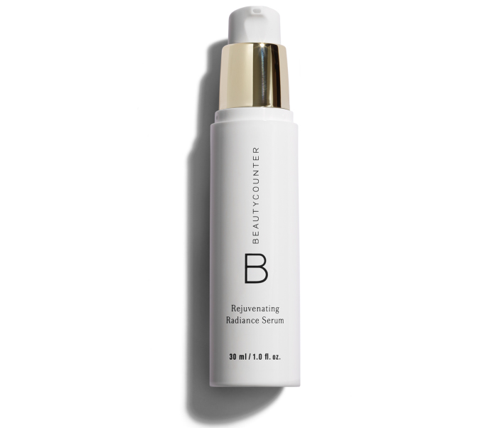 Bottle of Beautycounter Rejuvenating Radiance Serum
