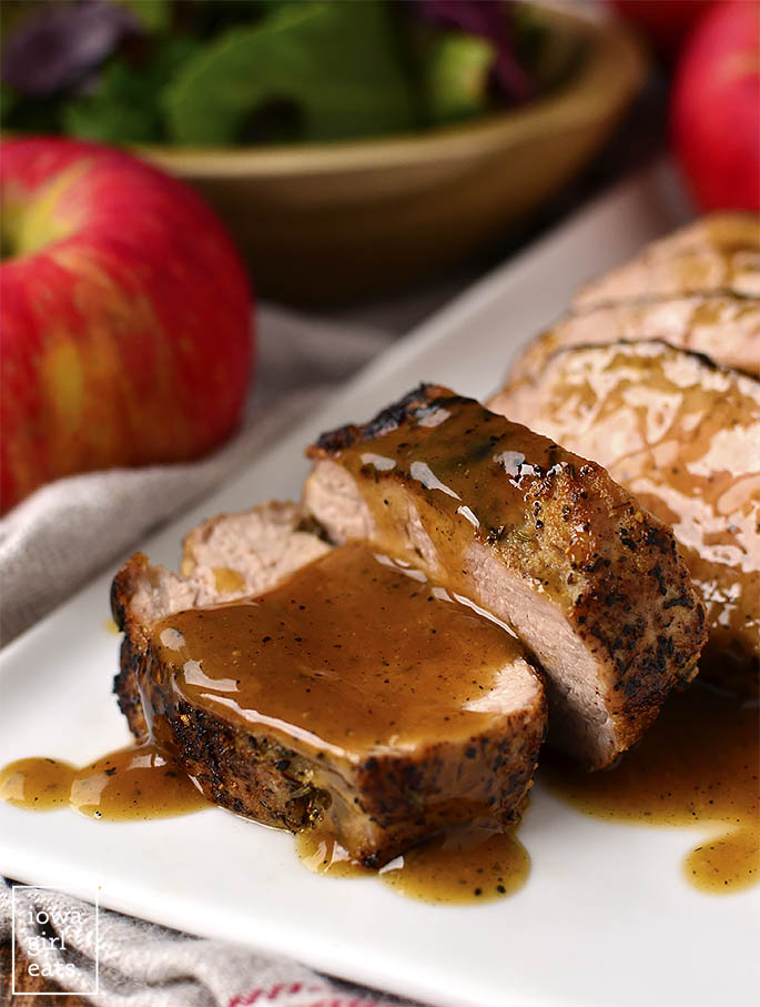 Image of Maple-Dijon-Cider Pork Tenderloin
