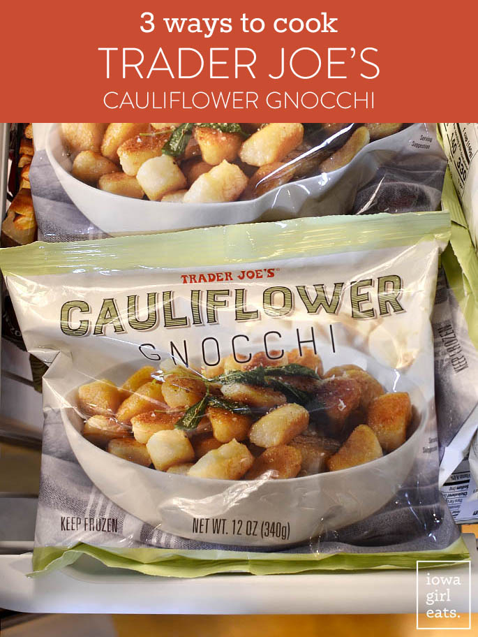 Bag of Trader Joe's Frozen Cauliflower Gnocchi