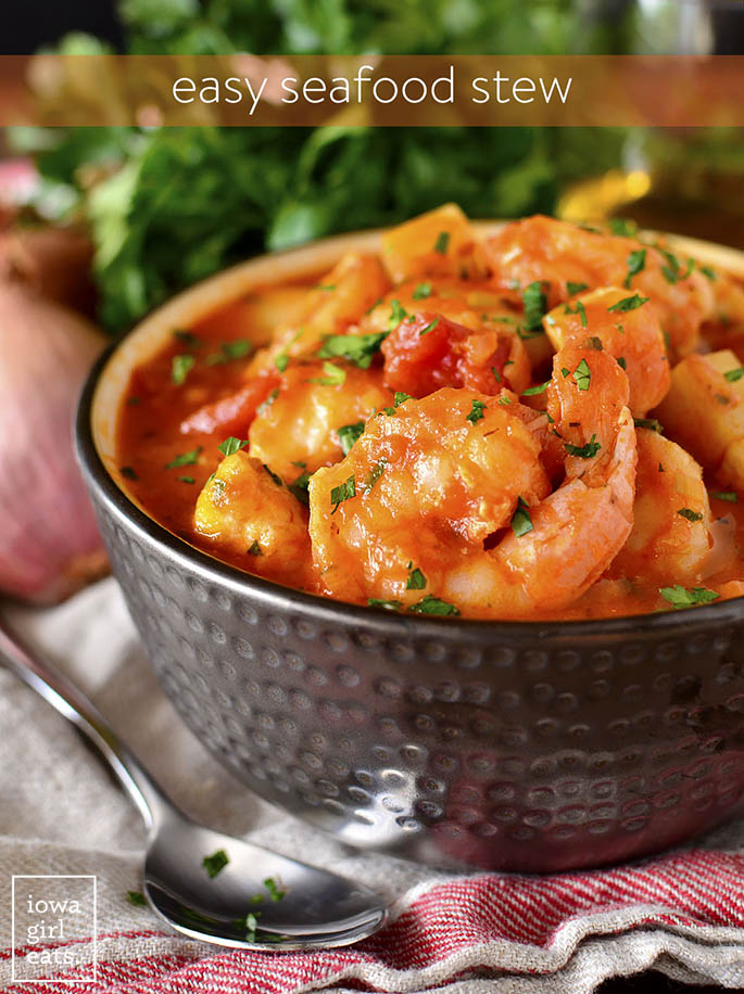 Bowl of Easy Seafood Stew