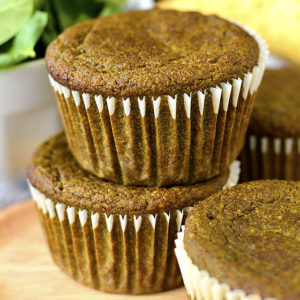 Green Smoothie Muffins (Video)