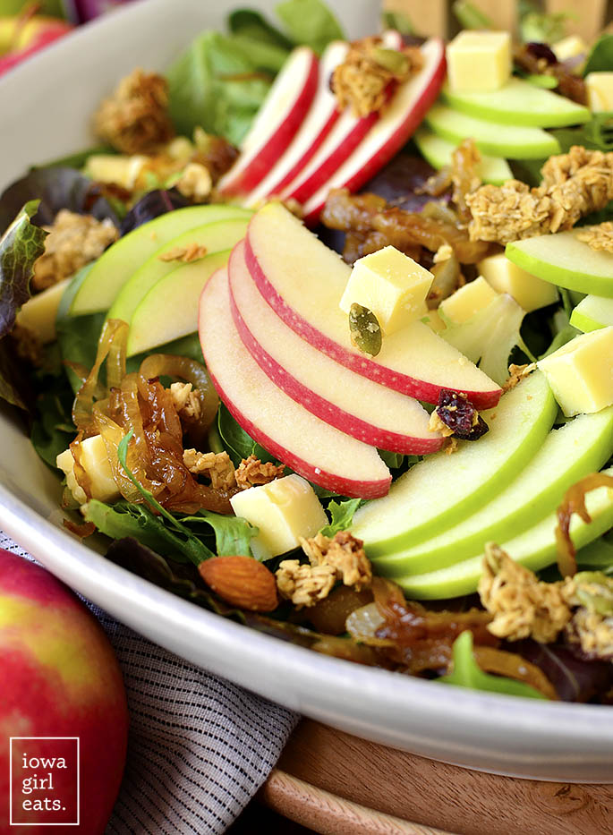 Close up photo of Apple Orchard Salad