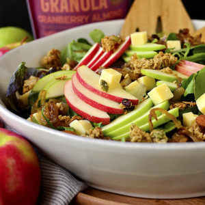 Apple Orchard Salad with Maple-Dijon Vinaigrette