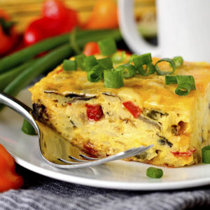 Vegetable Egg Casserole