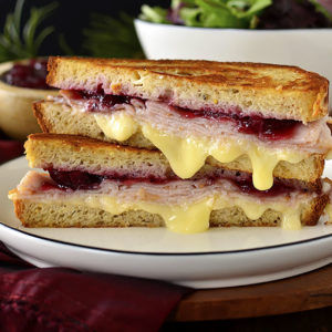 Holiday Grilled Cheese