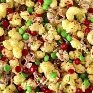 Christmas Crunch Treat Mix